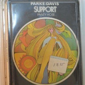 Vintage Parke Davis Support Panty Hose Sz M